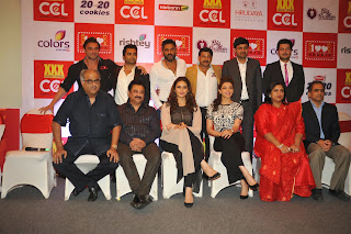 Actress Kajal Aggarwal and Huma Qureshi Latest Pictures at Launch of 100 Hearts A Social Initiative By CCL  29.jpg
