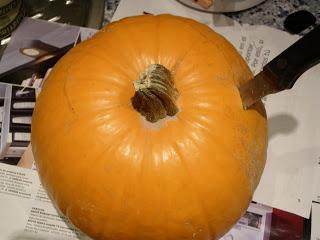 Brujer a del cerco c mo hacer una calabaza de halloween - Como vaciar una calabaza ...