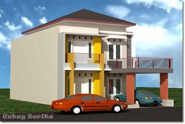 ... gambar desain rumah minimalis tingkat dua . Berikut gambar-gambarnya