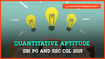 Quantitative Aptitude SSC and SBI PO