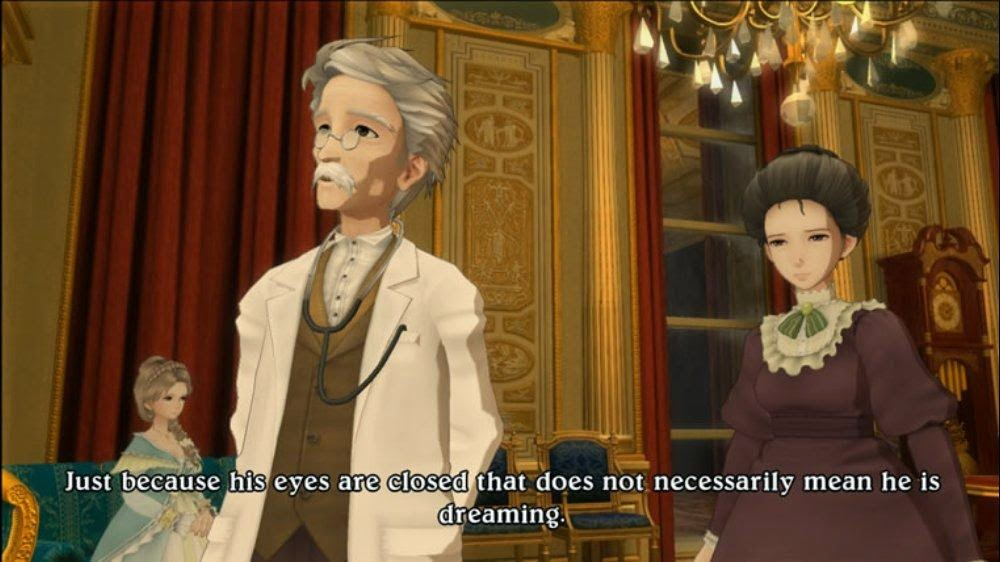 Eternal Sonata Game Review ps2 Xbox 360 game real life chopin death bed