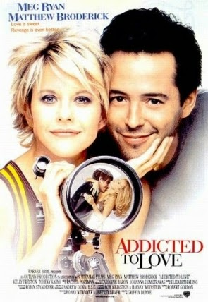 Poster Of Addicted to Love (1997) In Hindi English Dual Audio 100MB Compressed Small Size Mobile Movie Free Download Only