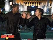 Chris Tucker and Jackie Chan show their version of the full court press.
