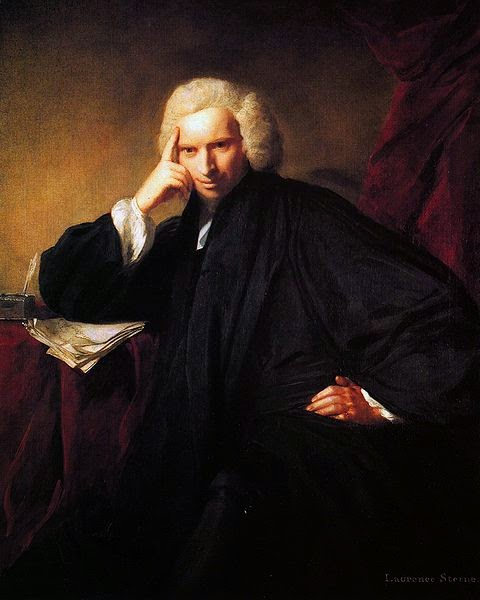 Laurence Sterne by Sir Joshua Reynolds, 1760