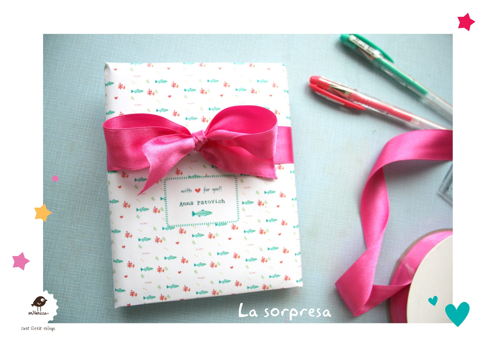 milanesa: Happy mail project: Enero Lila Ruby King