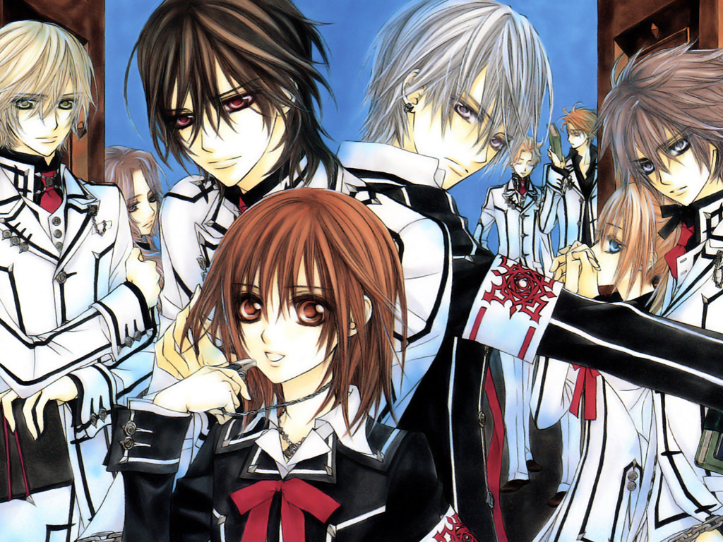 Anime Characters Vampire Knight : Jk s wing vampire knight anime review