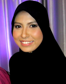 Natural nikah makeup pengantin