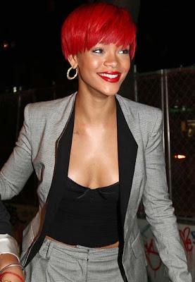 Rihanna Gold Hoop Earrings