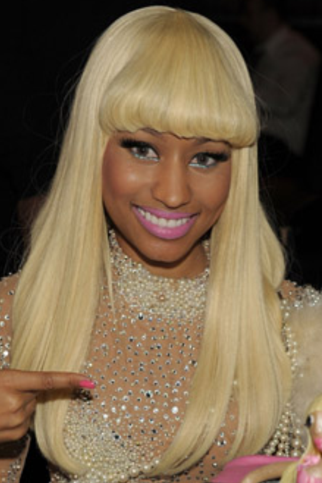 nicki minaj barbie necklace. I LOVE Nicki Minaj#39;s style!