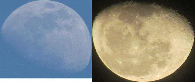 Moon at Perigee and Apogee. try to compare the size