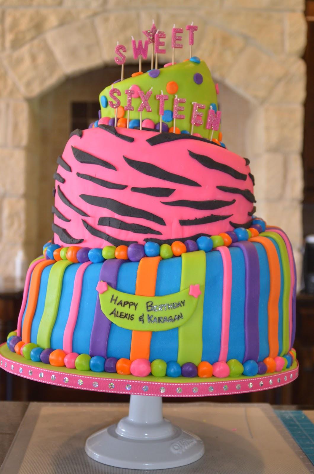 Birthday Cake Images Sweet : Cakes & Canines: Sweet 16 Birthday Cake