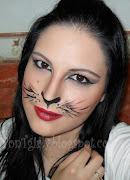 De nuevo me he animado a hacer un maquillaje de fantasía de cara a las .