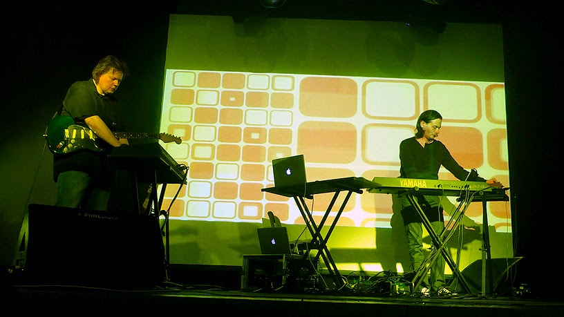 Jerome Froese live @ Electronic Circus 2014 / photo S. Mazars