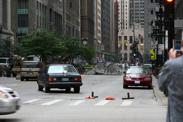 Pictures of Transformers 3 Set in Chicago