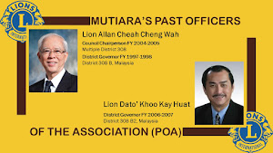 Past Officers of the Association