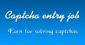 What is captha entry job