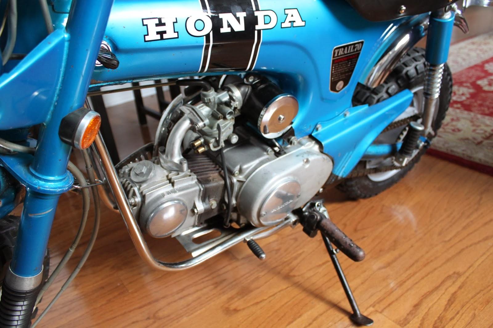 1970 Honda Ct70 Trail Bike 2000 Ann Arbor Grooshs Garage Carburetor Sold November 26 2012