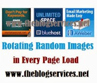 Rotating Random Image Banner in Every Page Load for Blogger Blog