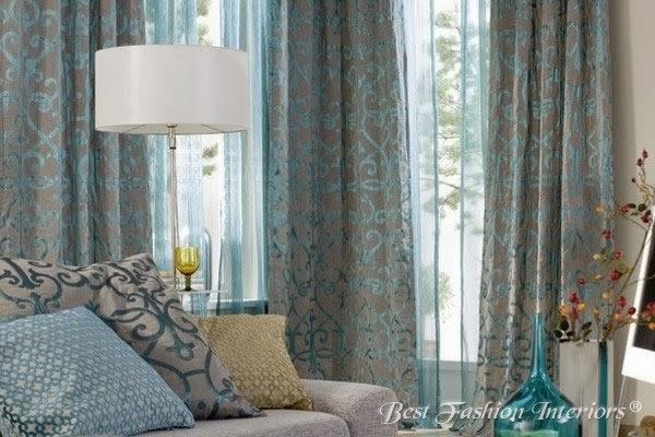 Double rideaux moderne images - Idee deco rideau salon ...