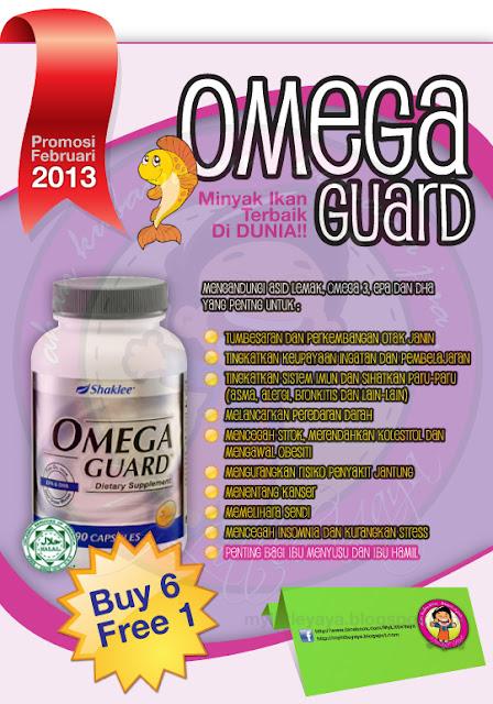 Promosi Omega Guard Minyak Ikan Terbaik