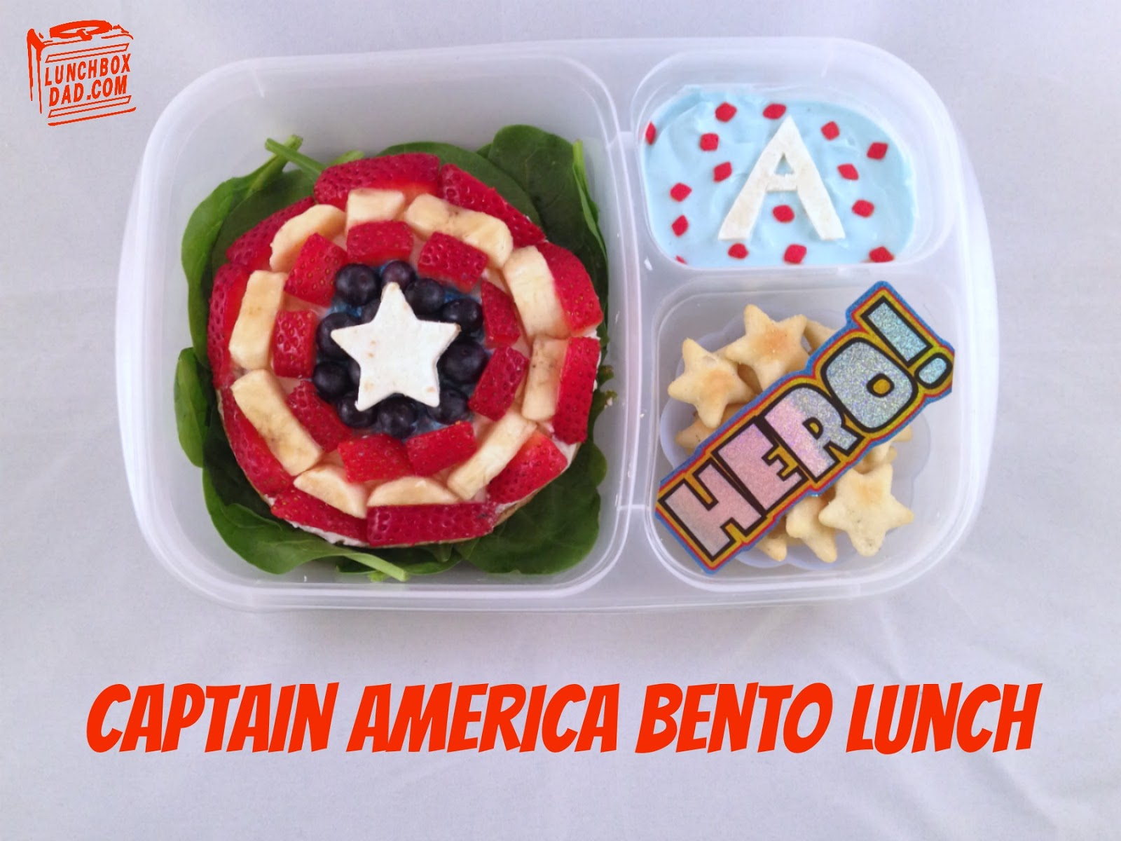 Captain America Lunch