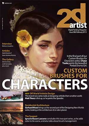 2DArtist Magazine Issue 086 February 2013