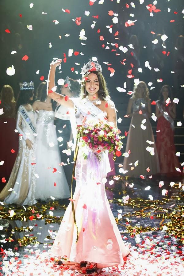 Miss Russia 2014 winner Yulia Alipova