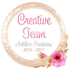 I AM ON THE ARTDECO CREATIONS TEAM