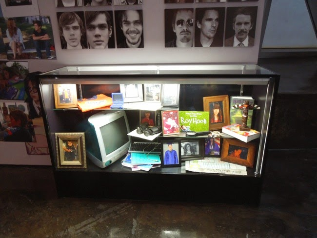 Boyhood movie prop display