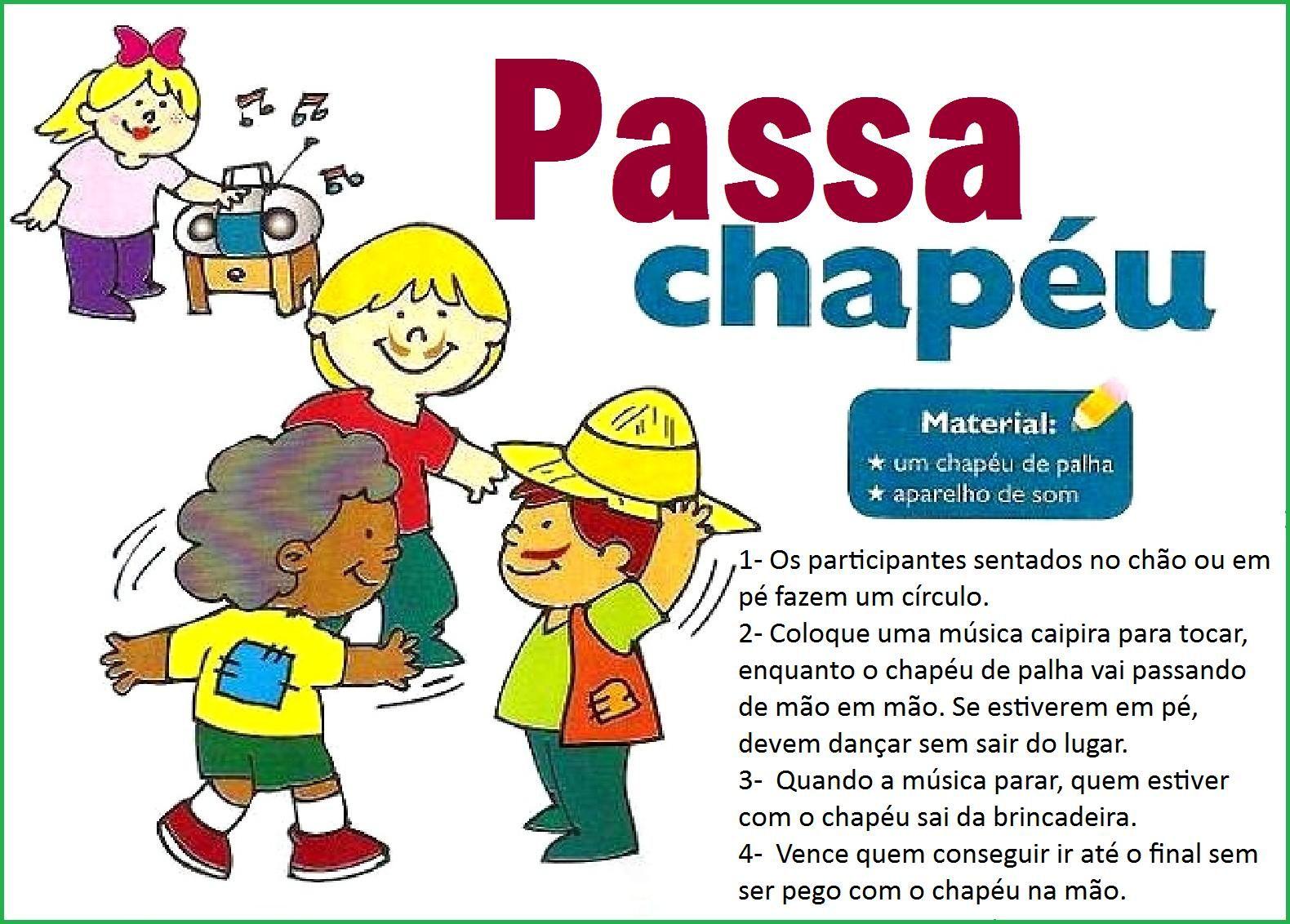 Amado Brincadeiras para Festa Junina. - Aprender e Brincar IU21