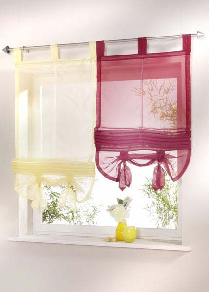 How to Make Kitchen Curtains - Making Kitchen Curtain - Easy To