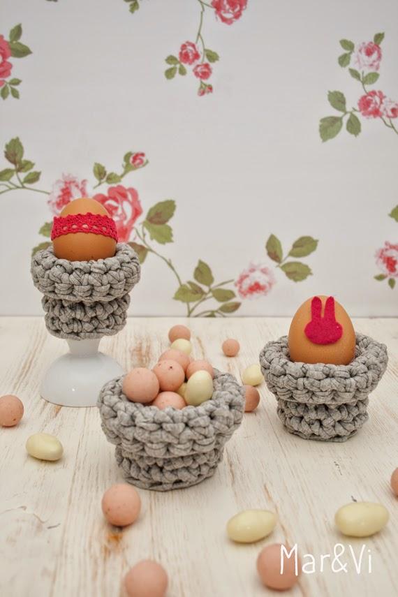 manualidades de Pascua con trapillo