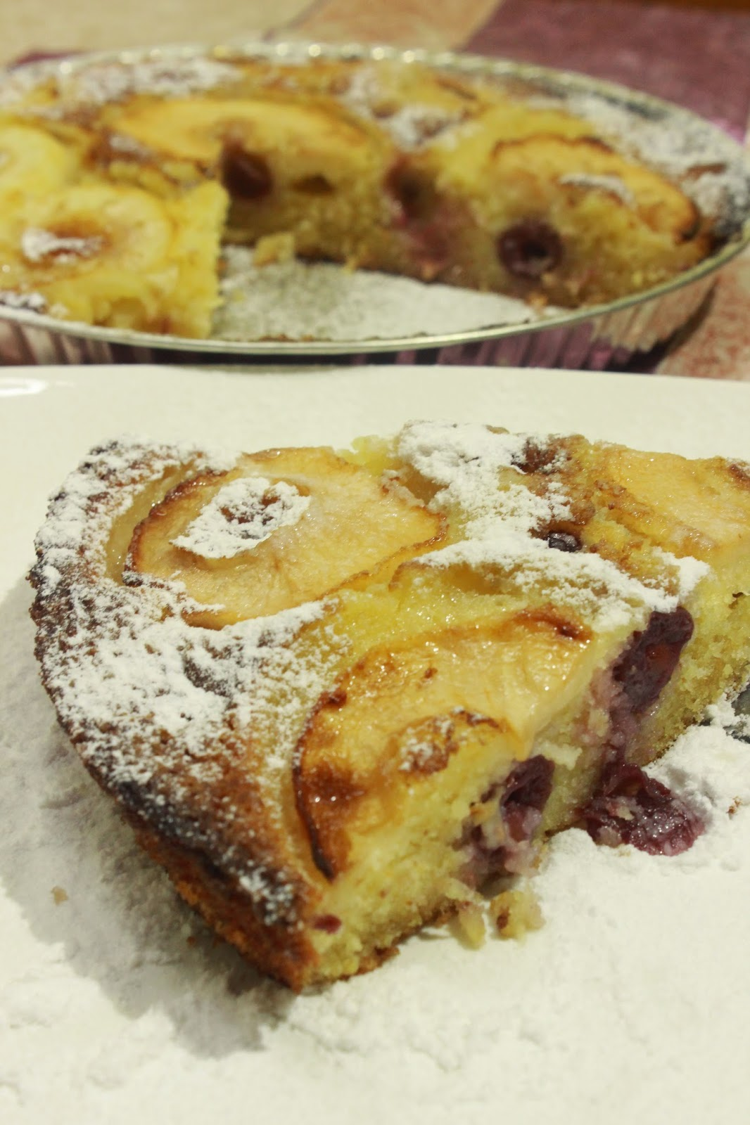 Soćan kolać sa jabukama