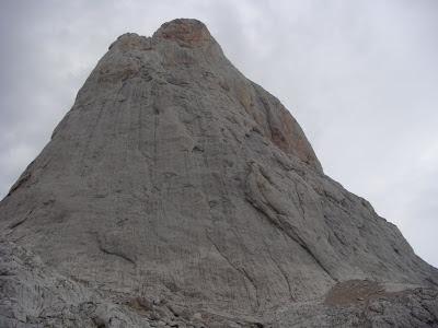 Cara Este del Picu Urriellu.