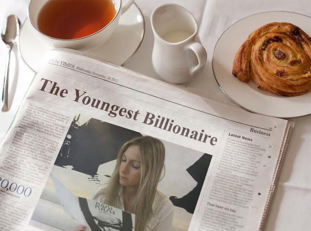 Blanca Balzola montaje millonaria periódico