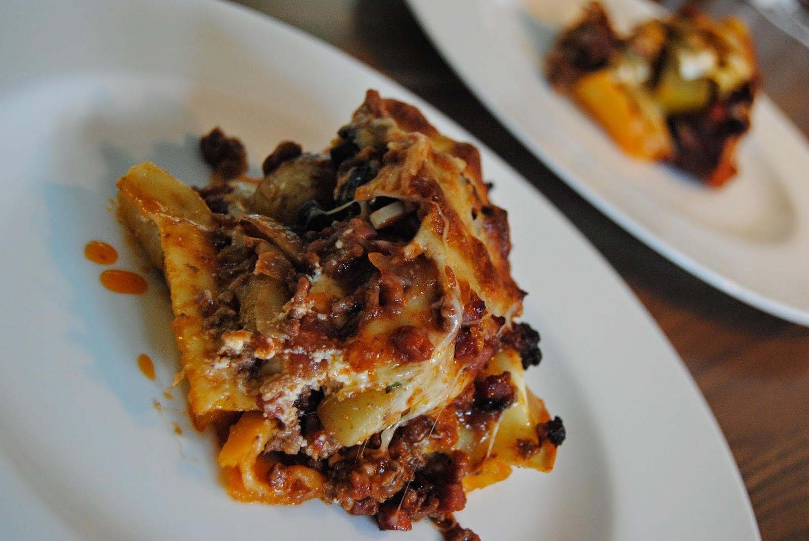Rezept Kürbis-Lasagne