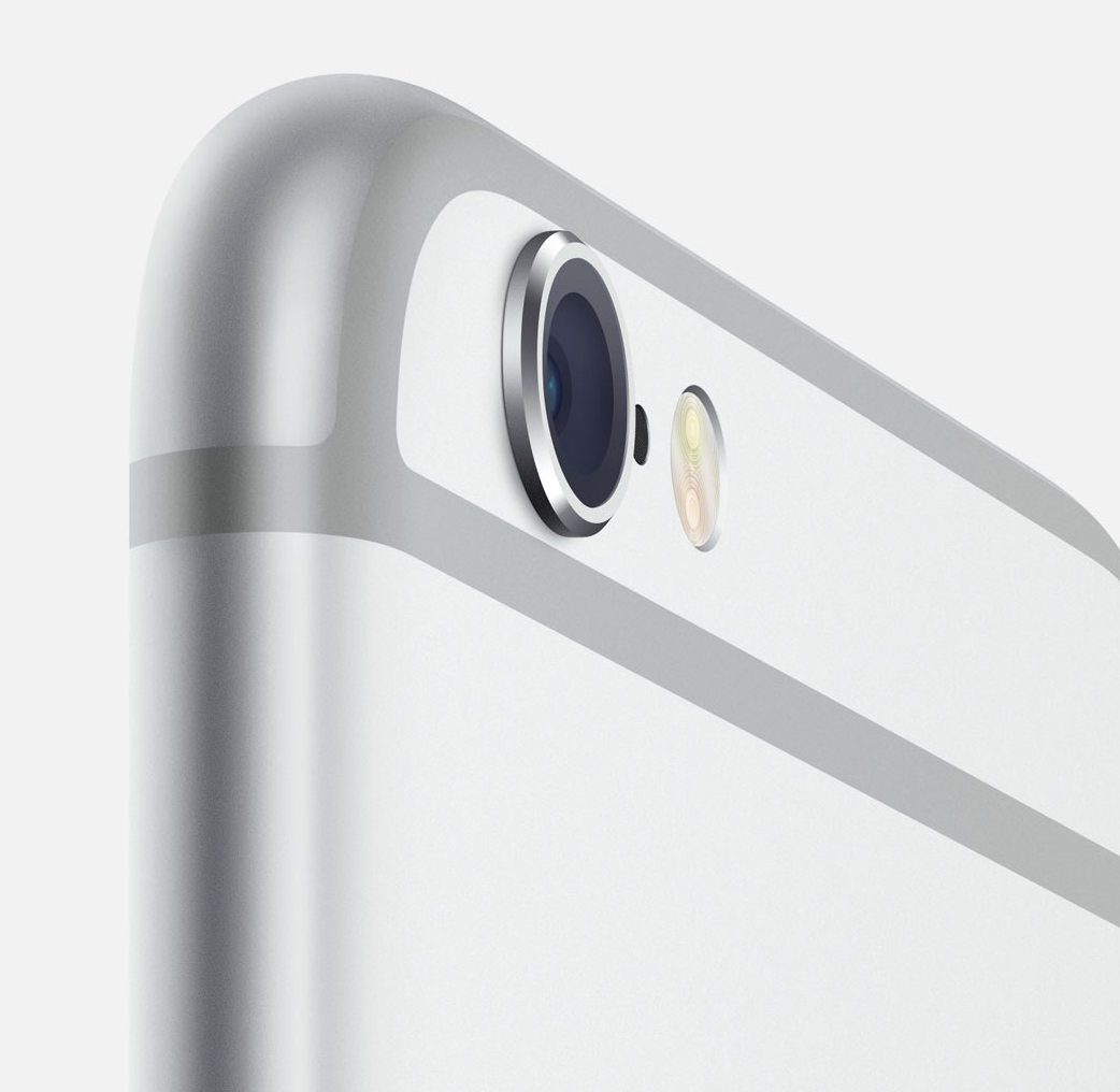 The iPhone 6 has improved cameras