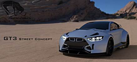 2016 Mamba GT3 Street Concept based on the BMW M4