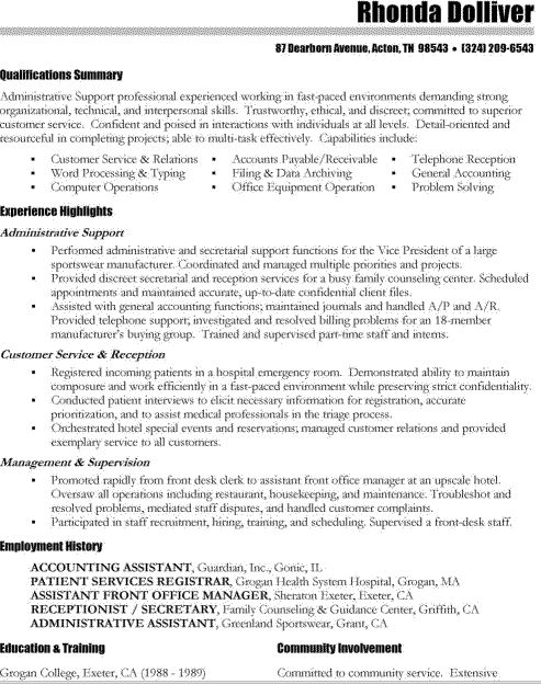 resume nursing assistant resume skills exercise science resume ...