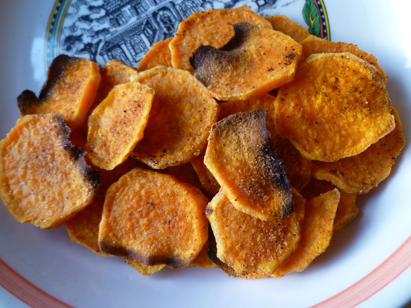 ... Chef's Baking: Sweet Potato Chips - it's National Potato Chip Day
