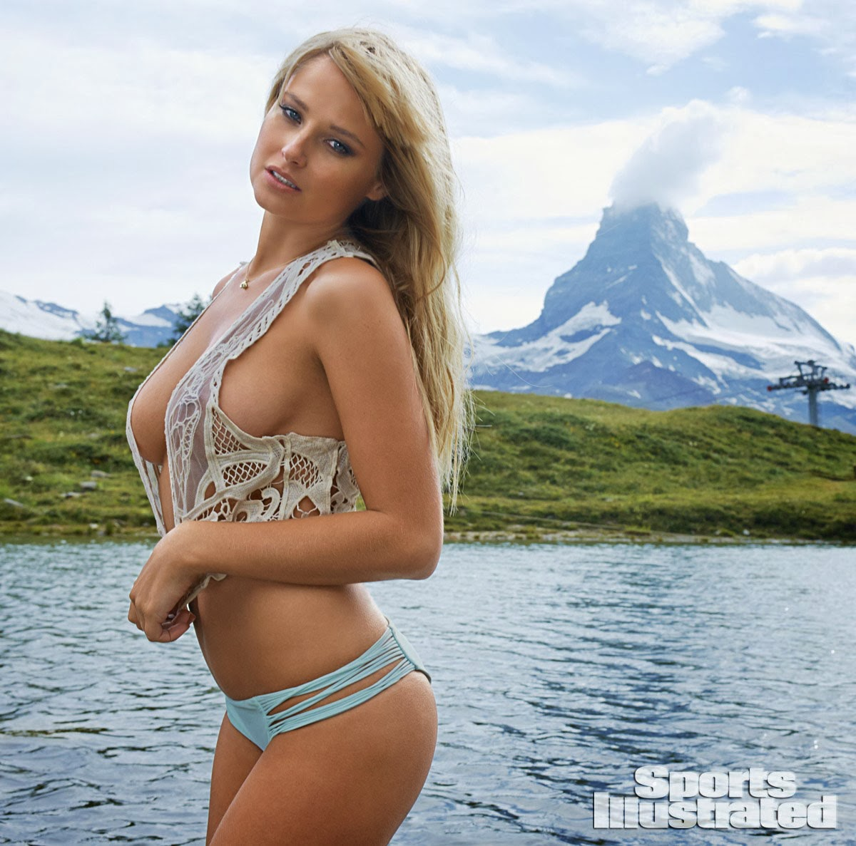 Genevieve Morton - Sports Illustrated 2014 Swimsuit Issue in Switzerland