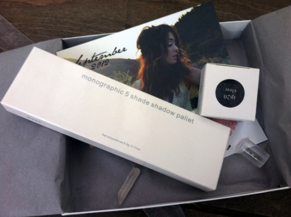 Star Box by Star Looks - September 2012 Review - Monthly Beauty Subscription Boxes