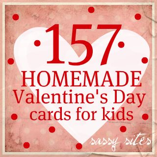 Sassy Sites Valentines Day Cards for Kids