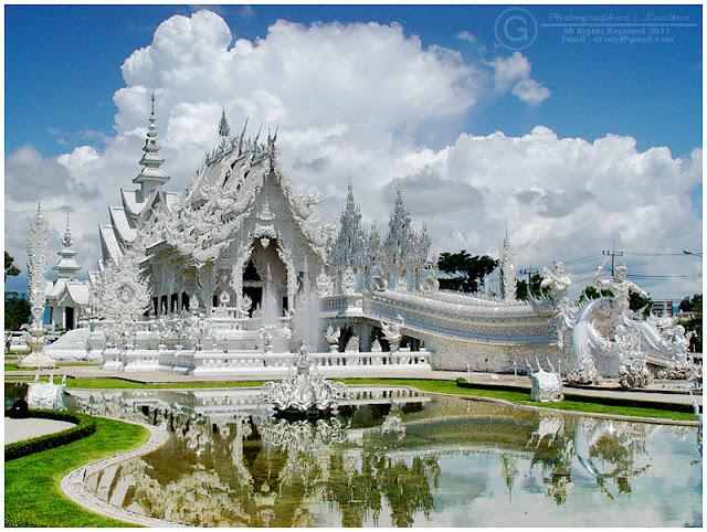 Photograph Wat Rong Khun Chiangrai Thailand