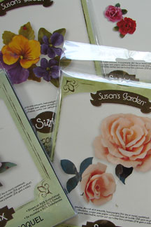 Susan&#39;s Garden by Sizzix