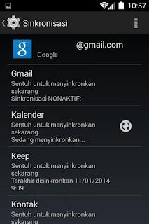 pengaturan google calendar di android