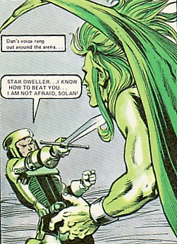 Dan Dare vs Solan, Massimo Belardinelli, 2000AD Annual, 1978