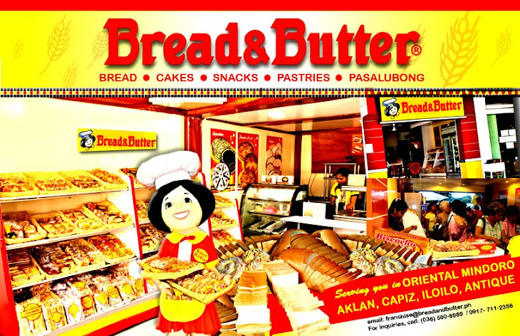 Bread & Butter, The Franchise Opportunity just for You!