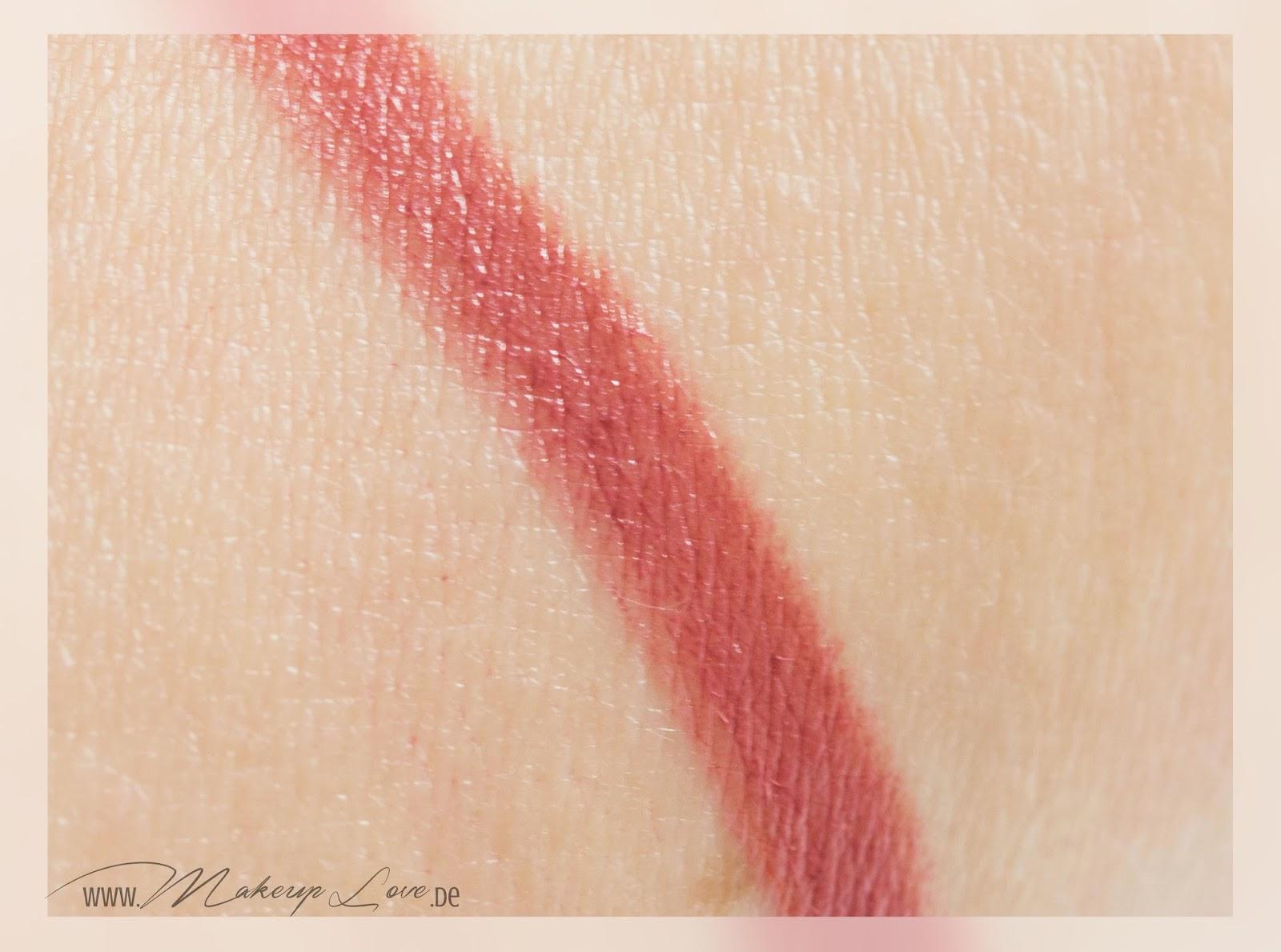 bite beauty high pigment lip pencil set holiday 2014 rhubarb swatch