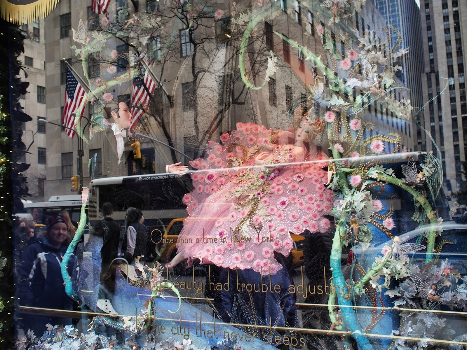 Asleep in the Big City #asleepinthebigcity #anenchantedexperience #nyc #Saks #Saksholiday ©2014 Nancy Lundebjerg